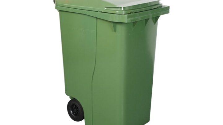 360 lt Plastik Çöp Konteyneri