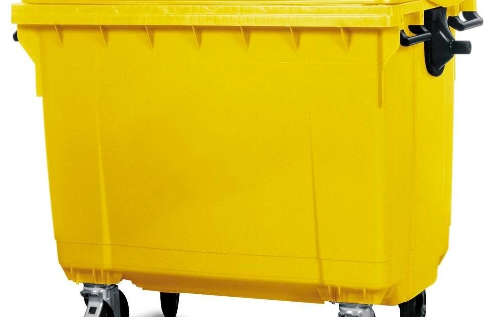 770 lt Plastik Çöp Konteyneri