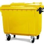 770 lt plastik çöp konteyneri ürün incelemesi