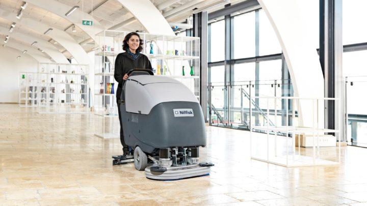 Islak Zemin Temizleme Makinası