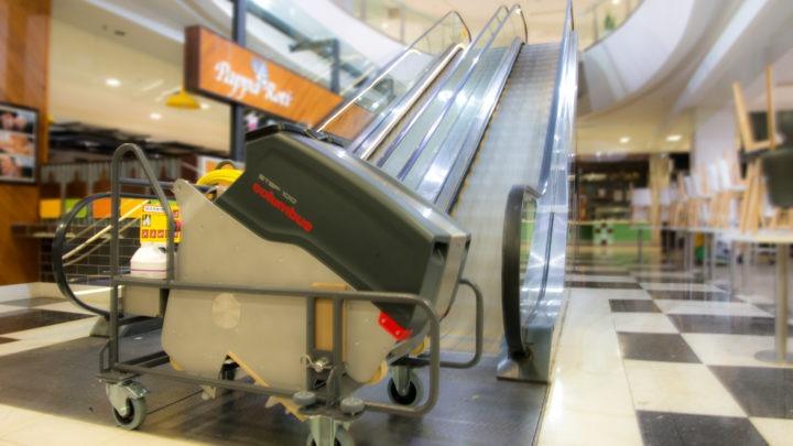 Merdiven Temizleme Makinası