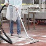 Sanayi tipi elektrik süpürgesiyle fabrika temizliği nasıl yapılır?